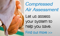 treatment of compressed air