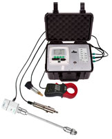 CS550 Portable data logger - Can measure & log dew point, flow pressure, power. Can store up to 100 million records.